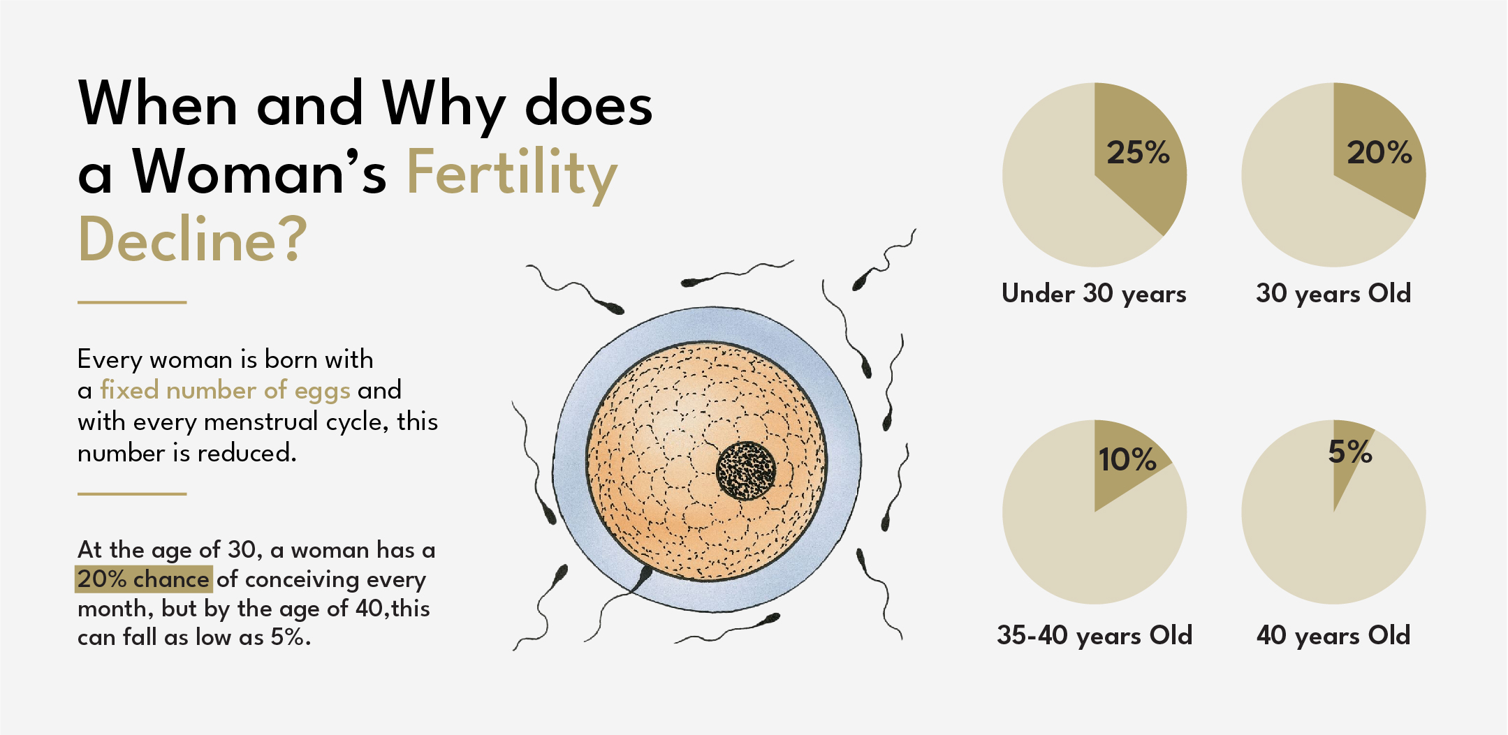 over 40 and Woman's Fertility Decline