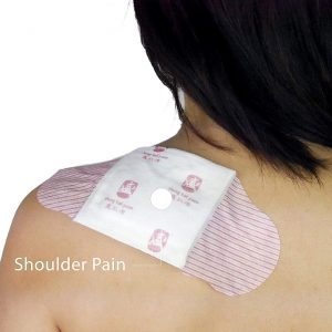 natural pain relieve with heat shoulder pain