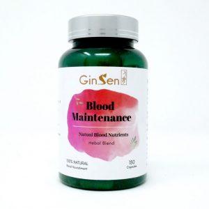blood maintenance by ginsen