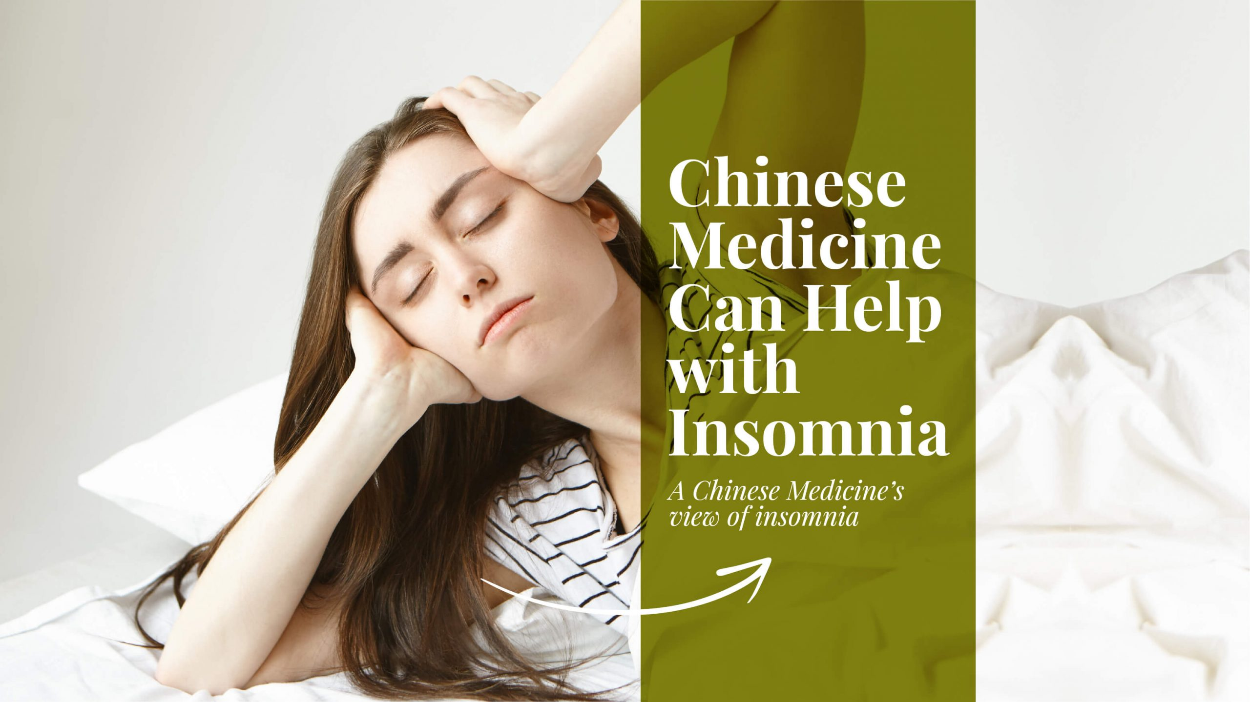 How Chinese Medicine Can Help With Insomnia