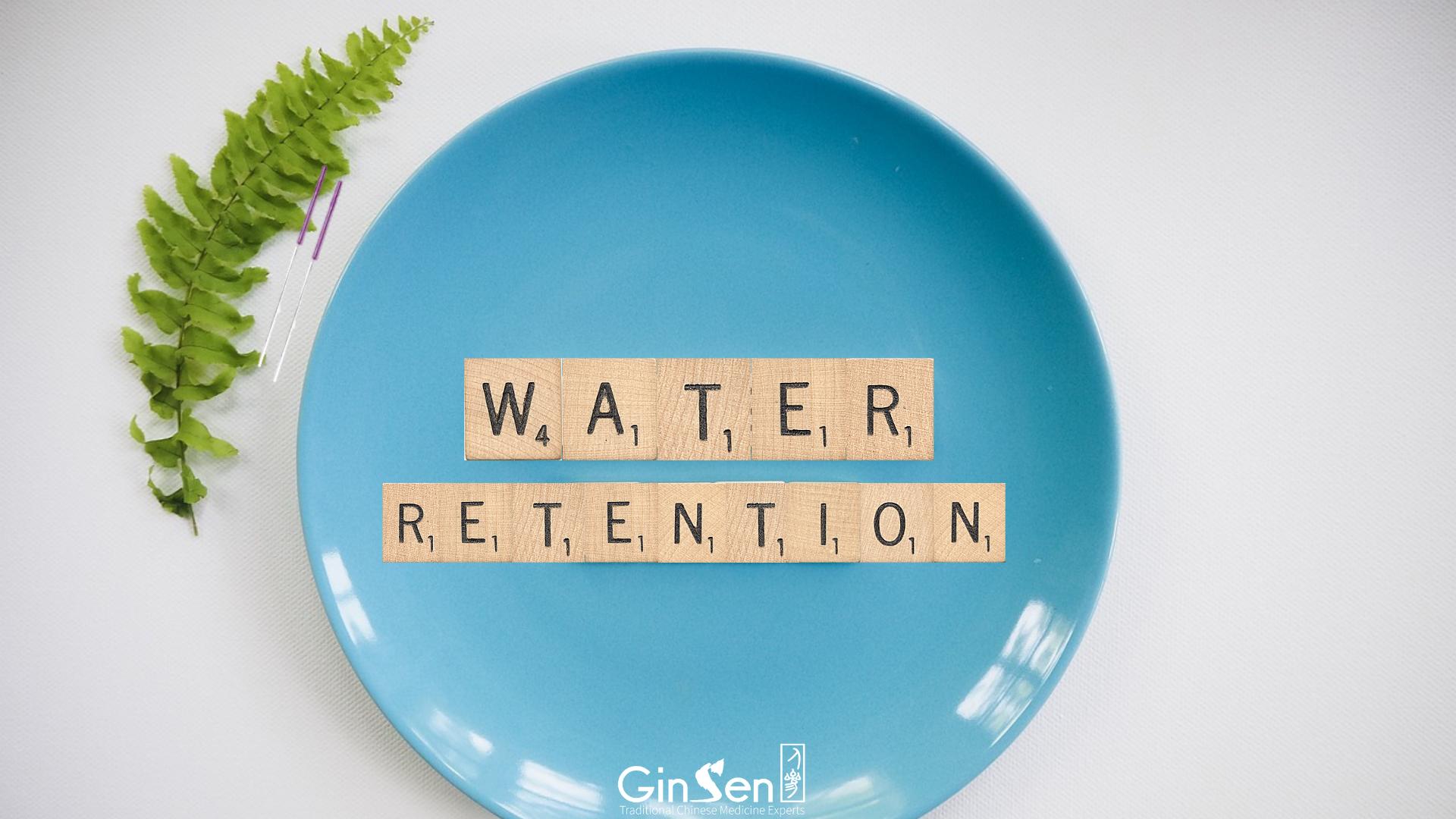 Reducing Water Retention Naturally