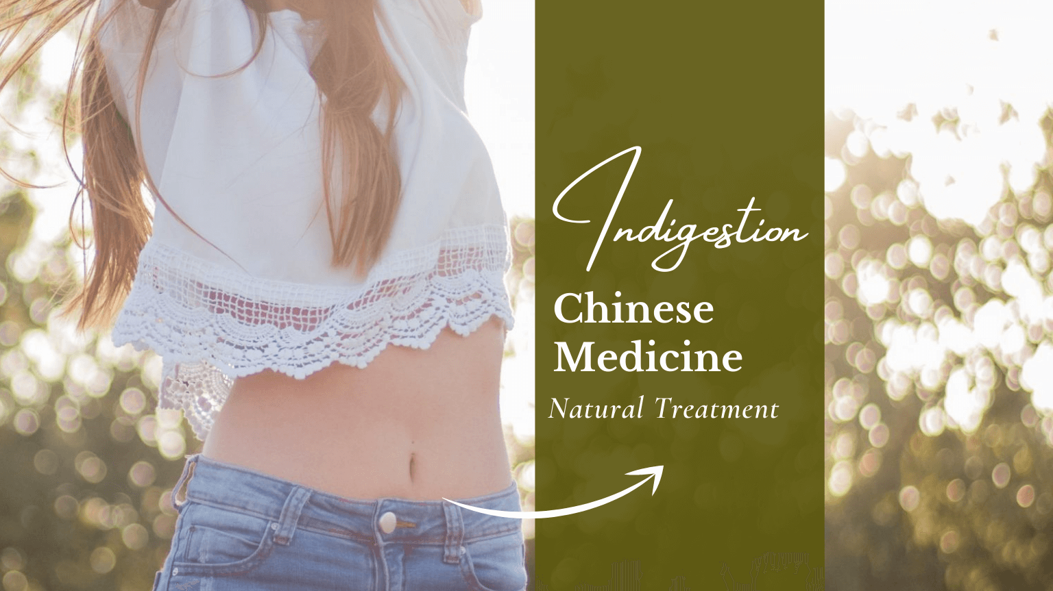 Indigestion Treatment with Natural Chinese Medicine