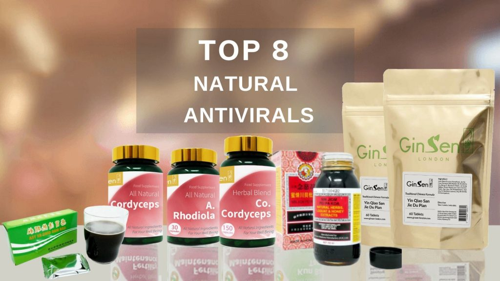 Top natural antivirals chinese herbs